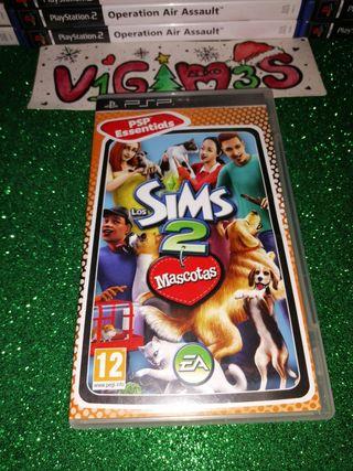 Los Sims 2 mascotas PsP