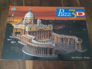 Puzzle 3D Catedral de San Pedro Vaticano