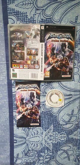 Soul Calibur Broken Destiny PSP