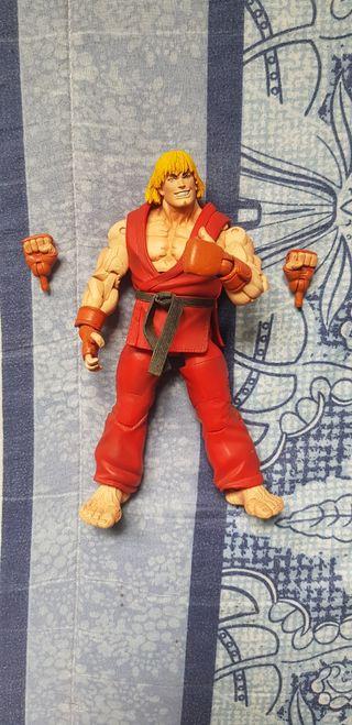 Figura articulada Ken Street Fighter IV.