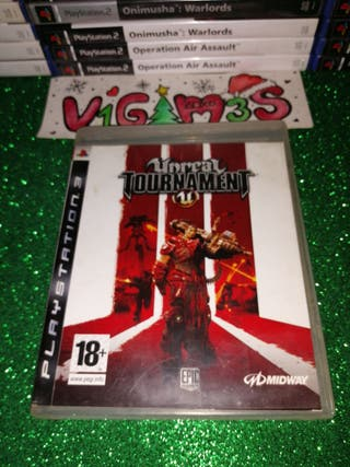 Unreal Tournament Playstation 3 Ps3 play 3