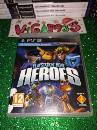 Playstation Move Heroes Ps3 Playstation 3 Play 3