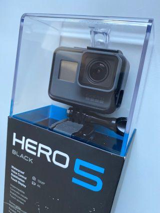 GoPro HERO 5 Black+Batería extra+Kit buceo