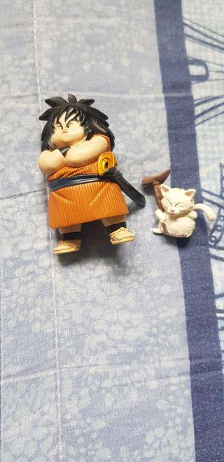Figura Gashapon Yajirobe y Karin Dragon Ball.