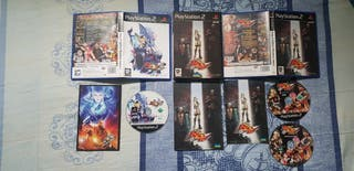 King of Fighters Maximum Impact 1&2 PS2.