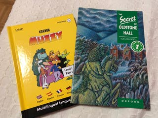 Libro iniciación inglés (level 1) + Muzzy