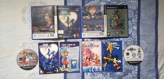 Kingdom Hearts 1&2 PS2.