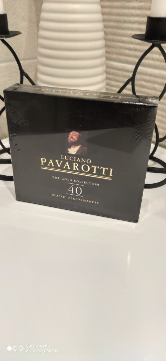 NUEVO 2CDs LUCIANO PAVAROTTI. The Gold Collection.