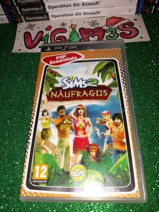 Los Sims 2 náufragos PsP