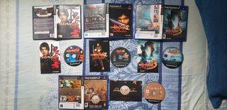Trilogía Onimusha y Genji PS2.