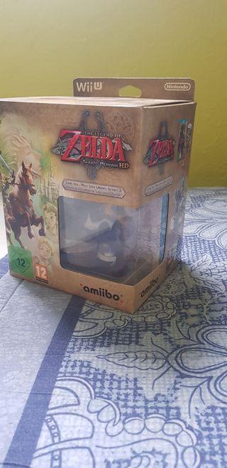 Zelda Twilight Princess Wii U Edición limitada.