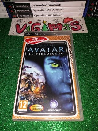 Avatar El videojuego PsP