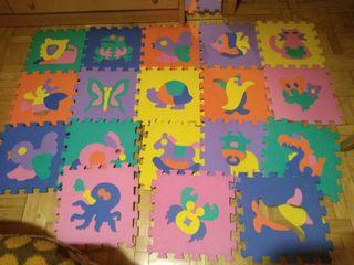 Gran alfombra foam 18 piezas MAS MODELOS!!!