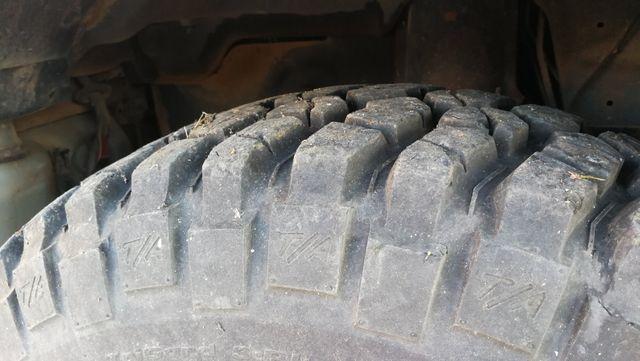 5x Neumáticos Bfgoodrich Mudterrain+llantas chapa
