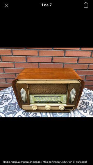 Radio antigua imperator picador. No probada