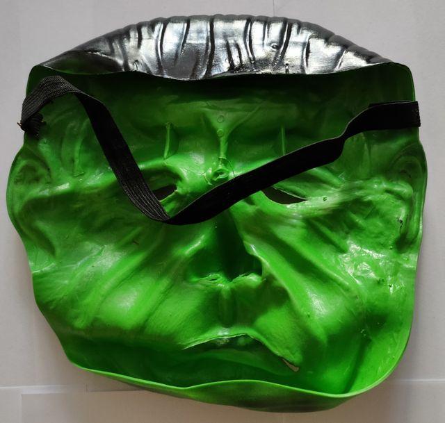 Máscara de Frankestein para Halloween