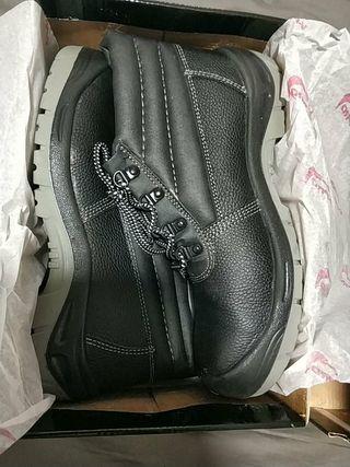 Zapato piel nuevo seguridad