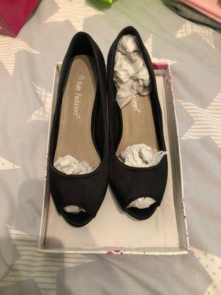 Zapato tacones talla 35