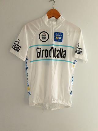 maillot maglia bianca giro d'italia