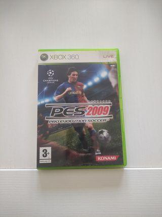 PES2009 Xbox 360