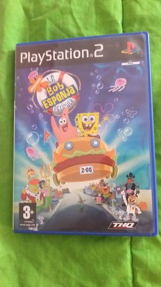BOB ESPONJA PS2