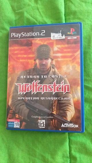 Wolfenstein Ps2