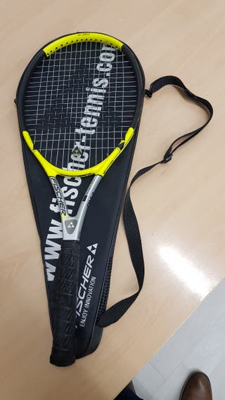 Raqueta de tenis fischer