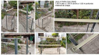JAULA PARA GALLINAS