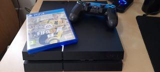 PS4 1TB+ 1 MANDO + FIFA 17