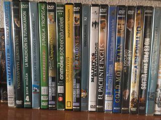 DVDs Películas y Documentales NUEVOS LIQUIDACIÓN