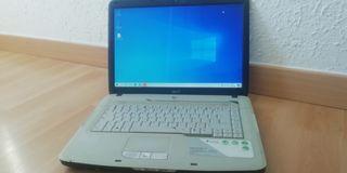 Portatil Acer, Intel Celeron, 2GB RAM, 120GB HDD
