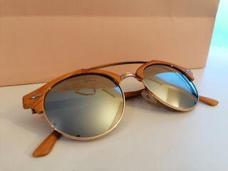 Gafas de sol aviador espejo