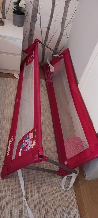 barreras de 150 de largo por 40 de alto