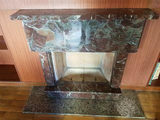 URGE! Chimenea marmol años 70
