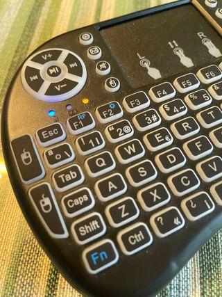 Teclado inalámbrico bluetooth-idóneo para smart-TV