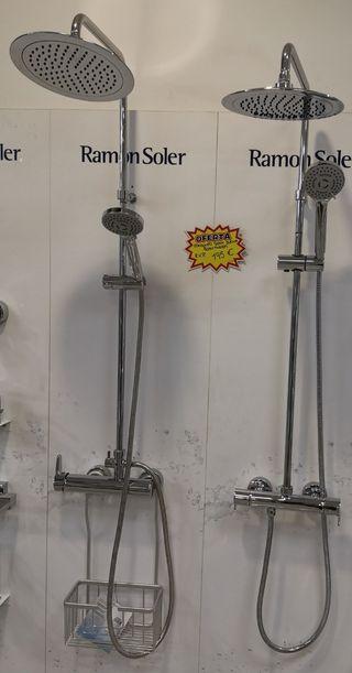conjunto ducha ramón soler 2 modelos diferentes