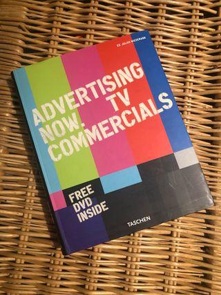 Libro Advertising Now. Taschen. Incluye DVD.