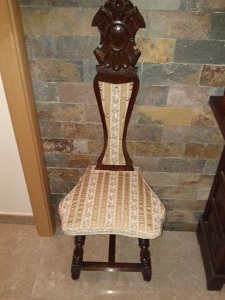 sillas decorativas estilo Luis XVI