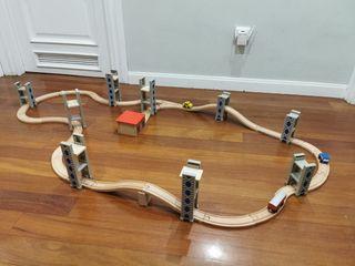Pista de Tren Madera
