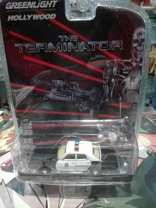 Dodge Monaco Terminator Greenlight 1/64 Miniatura