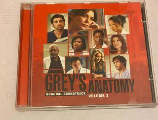 CD BSO Anatomía de Grey