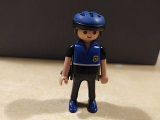 policia ciclista playmobil