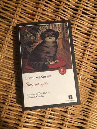 Libro Soy un gato de Nanutse Soseki