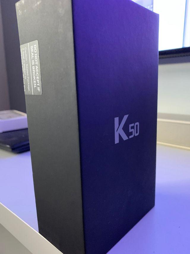 Vendo LG k50 nuevo