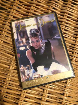 DVD Desayuno con diamantes con Audrey Hepburn