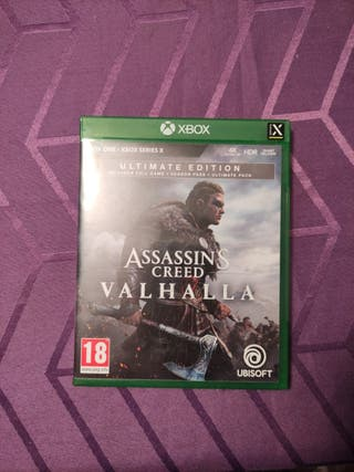 Assassin Creed valhalla Ultimate edition Xbox