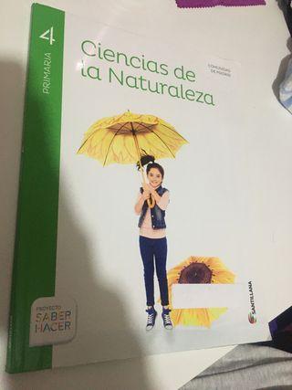 Ciencias de la naturaleza cuarto 4º de primaria