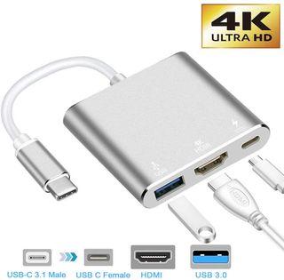 NUEVO!! HUB Adaptador USB C a HDMI 3.1 HDMI 4K