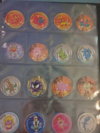 coleccion pokemon matutano con pegatina completo