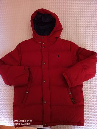 abrigo plumas niño